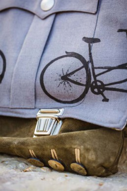 Stilmix - nicht nur für Männer mit Fahrrad